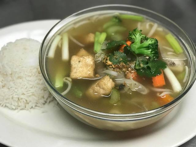 37. Vegetables and Tofu Soup