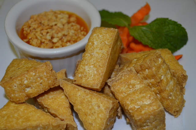 6. Fried Tofu